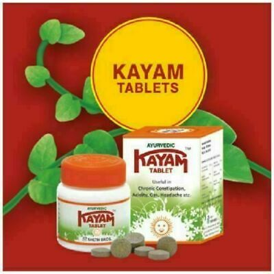 10X Kayam Tablet 300 tabs useful in Chronic Constipation, Acidity, Gas, (Best Tablet In India)