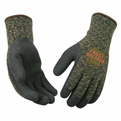 Kinco 1788-m Frost Breaker Camo Form Fitting Thermal Gloves Size Medium