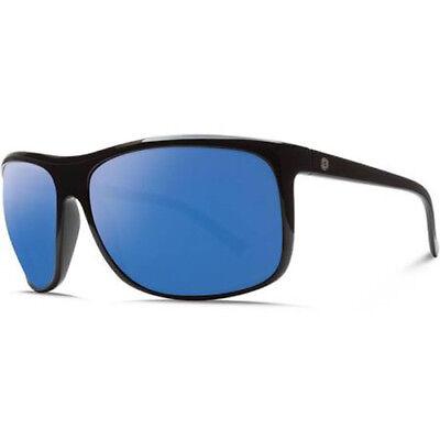 Electric Visual Outline Gloss Black / OHM Polarized Blue Sunglasses
