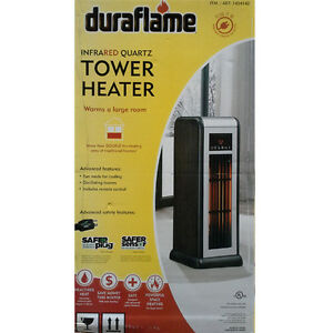 !!! NEW IN THE BOX !!!Duraflame Infrared Quartz Tower Heater