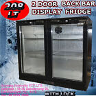 Glass Door 2 Bar Fridges