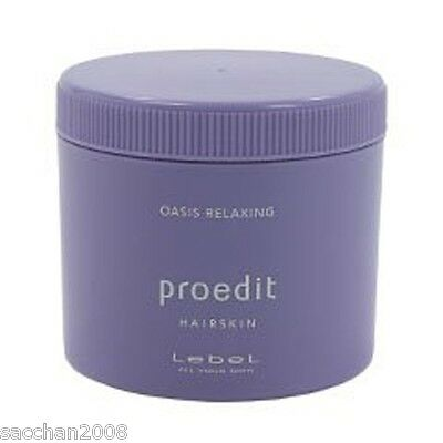 LebeL Proedit Hair Skin Oasis Relaxing (Hair Treatment Pack) 360g from Japan F/S