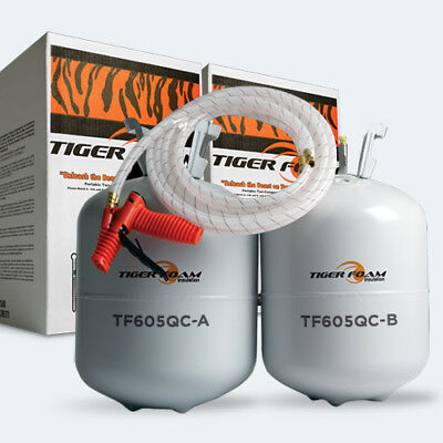 Tiger Foam Tiger Foam Tf605 - Quick Cure Spray Foam Insulation Kit Tf605