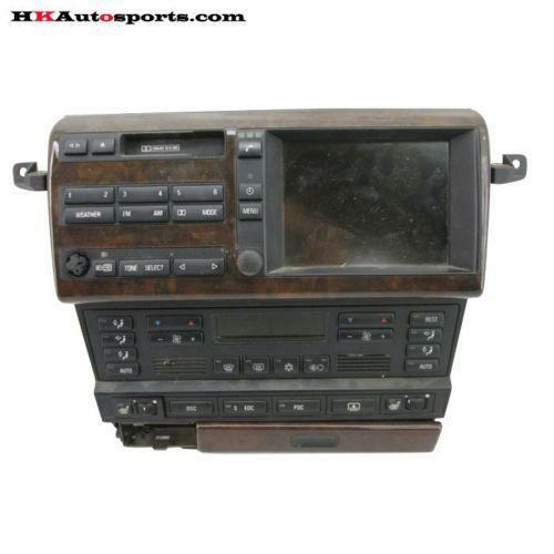 BMW 740IL Radio