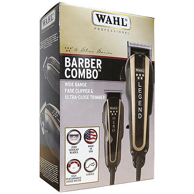 Wahl Professional 8180 5-Star Series Barber Combo Corded Cli