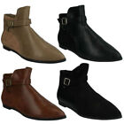 Ankle Flat (0 to 1/2 in.) Boots for Women