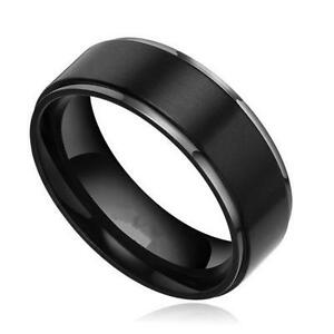 titanium tensus wedding jewellery grooved rings ring