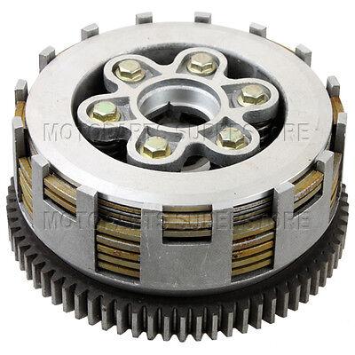 7 Plates Clutch Assembly for CG 250cc Engine ATVs Quad 4 Wheeler Dirt Bikes