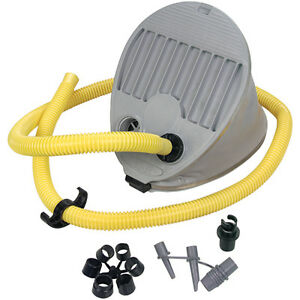NEW! AQUAMARINE HD FOOT PUMP FOR INFLATABLE BOATS