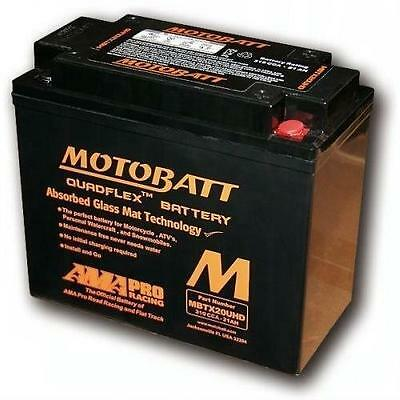 For Harley Davidson Battery Agm Gel Motobatt Mbtx20UHD Fxrs-Conv 1340 Low Rider