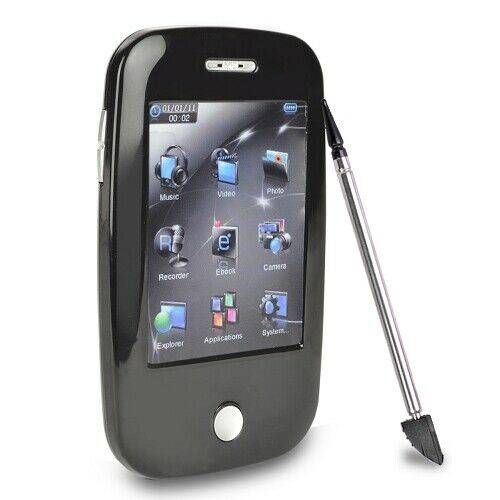 Trio 4GB MP3 USB 2.0 Touchscreen Digital Music/Video Player