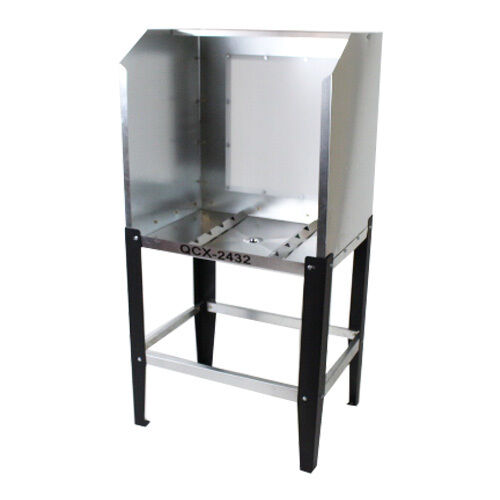 Quick Clean QCX-2432 Econo Washout Booth - with A.B. - screen printing tank