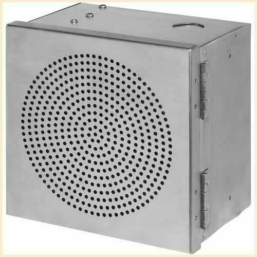 W Box Dual Tone 30W Siren, Stainless Steel Cabinet Box with tamper switcg