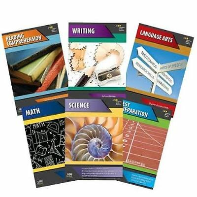 7th Grade Basic Skills 6-Subject Curriculum Common Core Workbook Homeschool 7