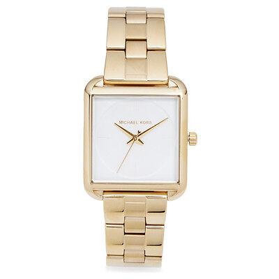 Michael Kors Women's Lake Gold Tone Stainless Steel Bracelet Watch 32mm MK3644