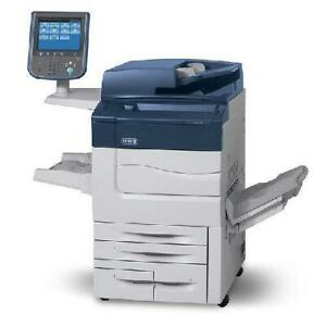 Only 20k pages - REPOSSESSED Xerox Color C70 Print Shop Production Copier High Speed 75 PPM