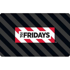 Get a $50 TGI Fridays Gift Card for only $40 - Email delivery