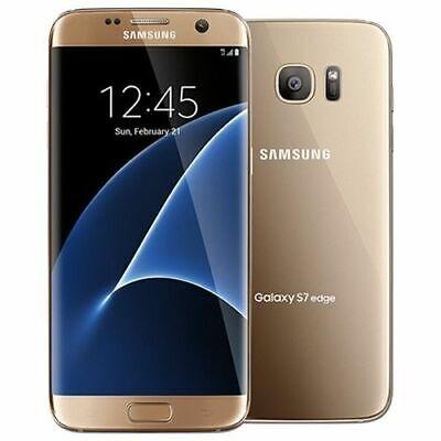 Samsung Galaxy S7 edge SM-G935F - 32GB - Gold Platinum (Unlocked) Smartphone