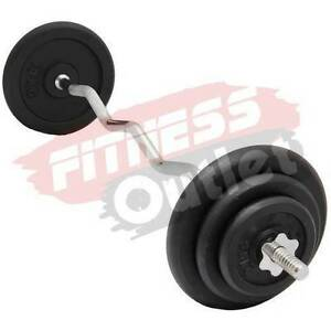 CURL BAR WEIGHTS SET FOR BICEP CURLS AND ARM CURLING Wangara Wanneroo Area Preview