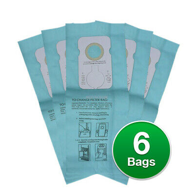Replacement Vacuum Bag F/ Simplicity 7250 Vacuum Model - Micro Type 6 Bags/pk 7 Micro Vacuum Bag