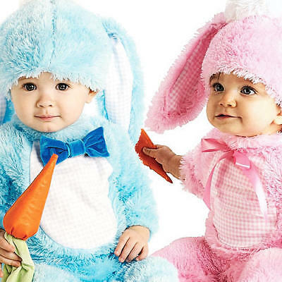 ancy Dress Easter Bunny Animal Costume Childrens 0-18 Months (Cute Easter Bunny-kostüm)