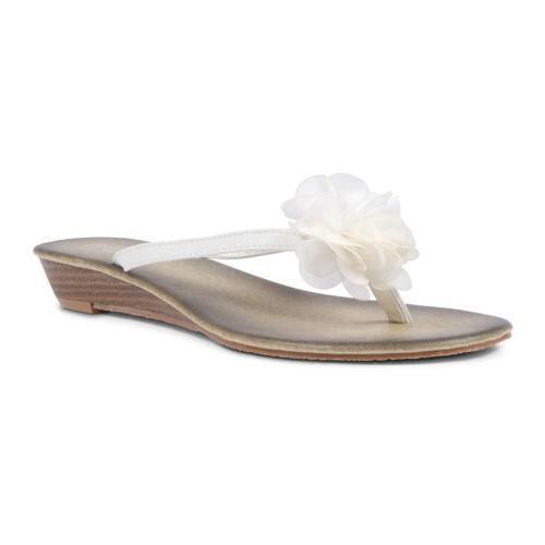White flower flip flops ebay kotaksurat white flower flip flops ebay mightylinksfo