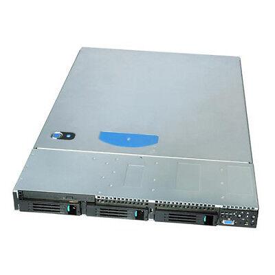 INTEL 19 Zoll 1HE  Gehäuse Server Industriegehäuse 400 Watt 3 x SATA HOTSWAP