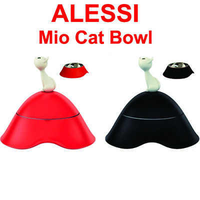 - ALESSI Mio Cat Bowl Various Colours FREE DELIVERY
