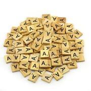 Scrabble Tiles 100