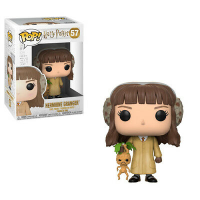 FUNKO POP! HARRY POTTER: Hermione Granger (Herbology) [New Toy] Vinyl Figure