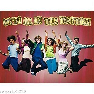 HIGH SCHOOL MUSICAL INVITATIONS (8) ~ Birthday Party Supplies Stationery HSM