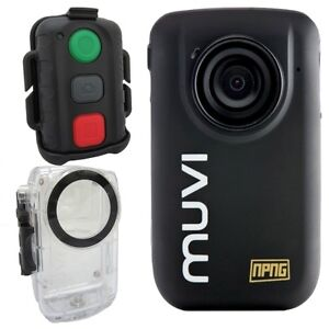 NEW Veho VCC-005-MUVI-HD10+ Muvi HD micro DV Handsfree Waterproof Camcorder