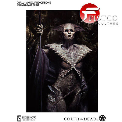 COURT OF THE DEAD - Xiall: Vanguard of Bone Art Print - ungerahmt (Sideshow)