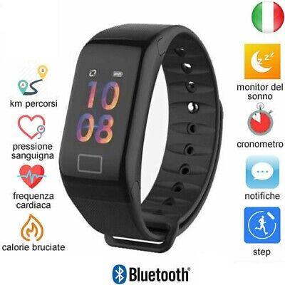 Smartwatch Orologio Cardiofrequenzimetro Smartband Sport Fitness Ios Android