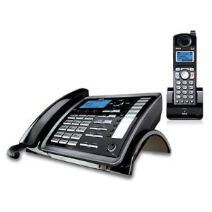 RCL VISYS 2 line corded/cordless phone system