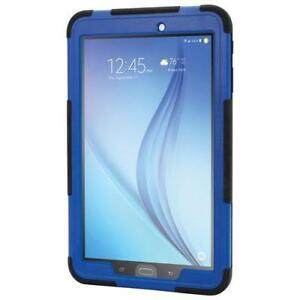 "Griffin GB42577 Survivor Slim Samsung Galaxy Tab E 9.6"" Rugged Case - Black/Blue (New Other)"
