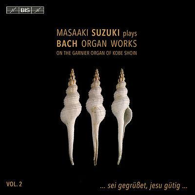 Organ Works 2 - Bach Suzuki (2017, Sacd Neu)