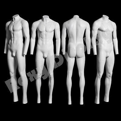 Male Invisible Ghost Mannequin Manikin Display Dress Form #MZ-GH3-S