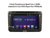8 Inch Touch Screen Android 4.4 Car Stereo