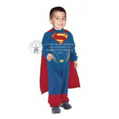 Super Man Costume For Kids (Superman Man of Steel Tiny Tikes Jumpsuit Costume Fancy Dress for)