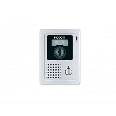 KOCOM 2 Wire Color Door Camera KC-C62 White LED On Surface Mount