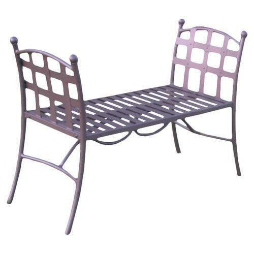 Wrought Iron Bench Ebay