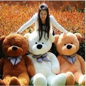 New-80cm-Big-Plush-Sleepy-Teddy-Bear-Huge-Soft-100-Cotton-Toys-3-colours