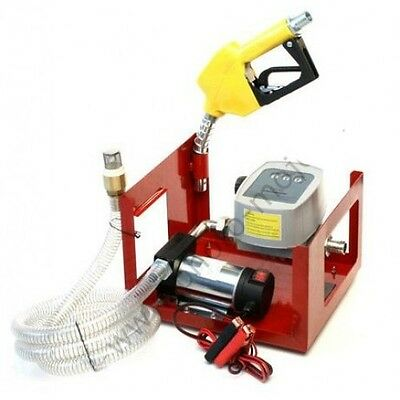 Electric Fuel Oil Diesel Transfer Pump 12 Volt