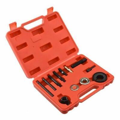 13PC Power Steering Pump Pulley Puller Installer Remomal A/C Alternator Tool Kit