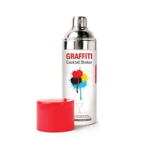 Kikkerland Graffiti Cocktail Shaker - NEW