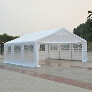 NO TAX | FREE DELIVERY @ TRENDALS ® | Brand New 20x20 ft Heavy Duty Wedding Party Tent