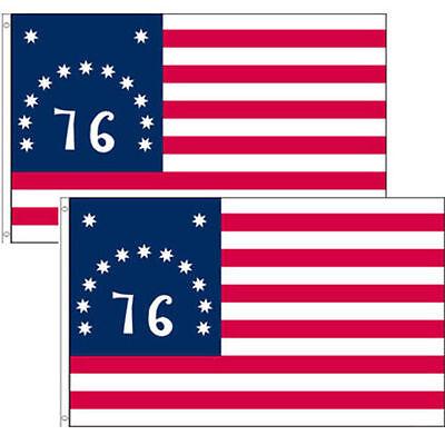3x5 Bennington 76 Flag Bennington 1776 Flag 3'x5' Banner Gr