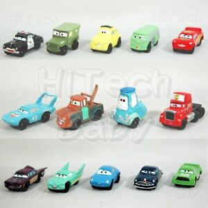 Disney Cars Rust-eze Lightning McQueen & Friends Mini Trading Figure Set (14pc)