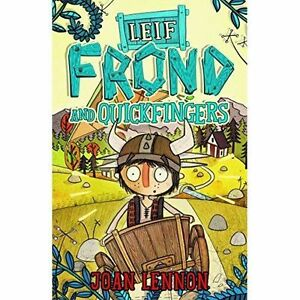 Leif Frond and Quickfingers, New, Joan Lennon Book